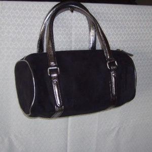 Bag Victoria's Secret Ultra Suede Black/Metallic